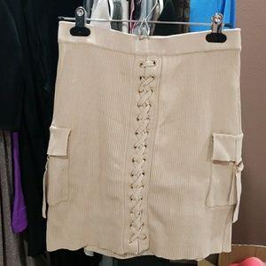 Naked wardrobe Ribbed skirt